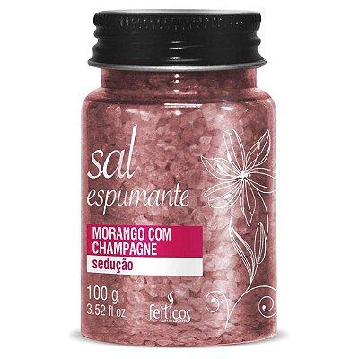 SAL ESPUMANTE DE BANHO SEDUCAO - MORANGO COM CHAMPAGNE