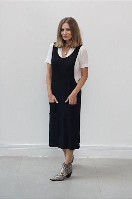 Vestido Salopete Midi