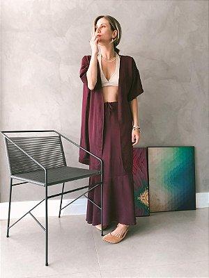 Kimono Roxo
