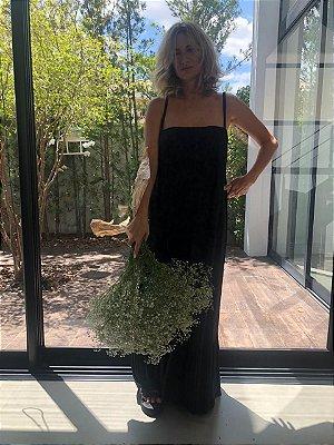 Vestido Decote Reto Amor-Perfeito Negro
