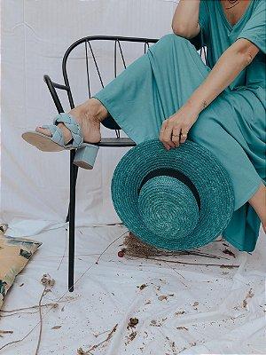 Chapéu Jade Azul