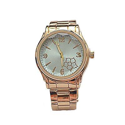 Relógio Feminino Stainless Fundo de Tela Azul