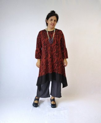 Vestido/Sobre legging Bari