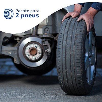 Alinhamento + Balanceamento de 2 pneus | Instalação grátis