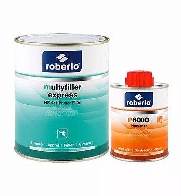Primer Multyfiller Express HS 4:1 com Catalisador - Roberlo