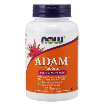 Multivitamínico Adam Now Foods Melhor Do Mercado Original Importado Pote Para 2 Meses