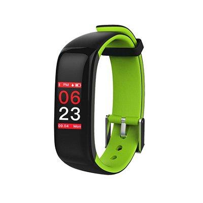 Relógio Inteligente X10 Plus -  Preto e Verde