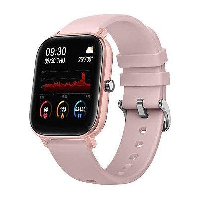 Relógio Inteligente Morefit Pro P8 Rosa
