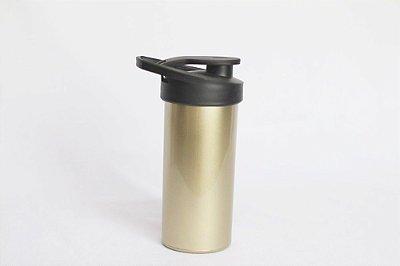 Squeeze de plástico - Ouro Metalizado