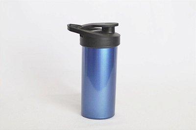 Squeeze de plástico - Azul Metalizado