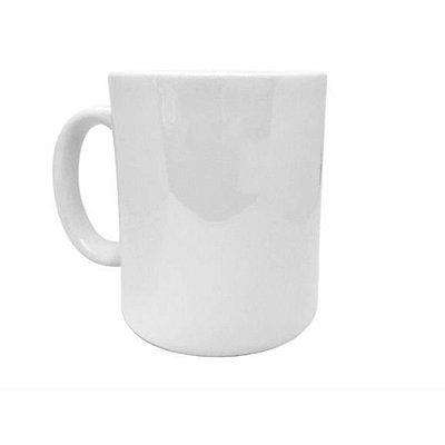 Caneca porcelana - Branca Classe B