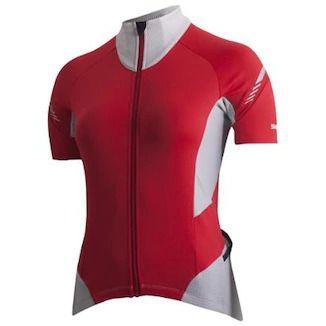 Camisa Shimano Cicle Escape Feminina - Vermelho e Cinza