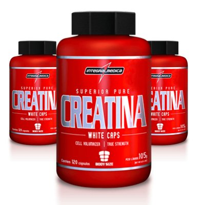 Creatina Body Size - 120Caps - Integralmédica