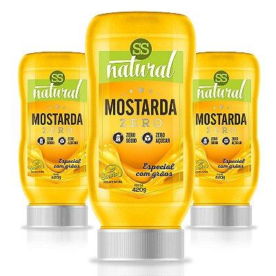 Mostarda Zero (400g) - SS Natural
