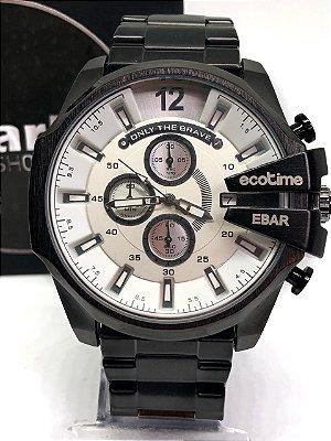 d20cb0a857b Relógio masculino E-BAR Aprova de água totalmente funcional