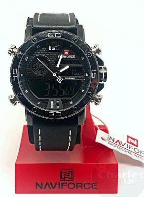 3466c25d16a Relógio Masculino Aprova De Água Naviforce Original Promoção