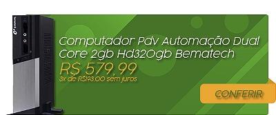 Mini Banner Computador PDV