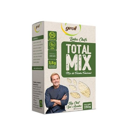 Total Mix (Mix de Farinhas Funcional) Giroil - 250g