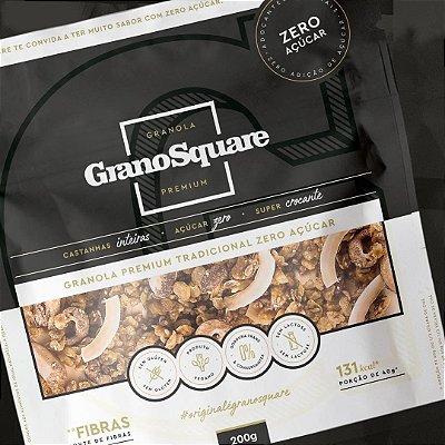 Granola Premium Grano Square Zero açúcar 200g