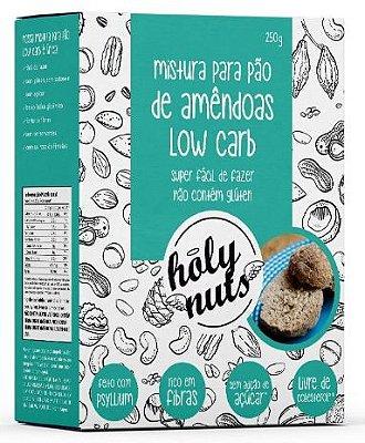 Mistura para Pão de Amêndoas Low Carb Holy Nuts - 250g