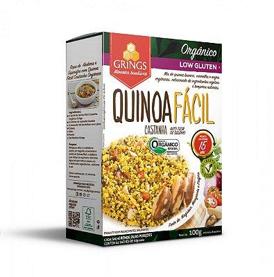 Quinoa Fácil Castanha Orgânico Grings - 100g