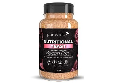 Bacon Free Nutritional Yeast - Pura Vida - 120g