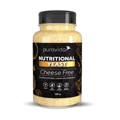 Cheese Free Nutritional Yeast - Pura Vida - 120g