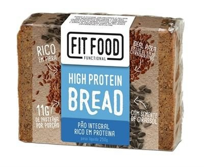 Pão Proteico Fit Food - 250g