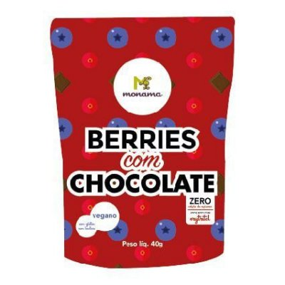 Berries com Chocolate Monana - 40g