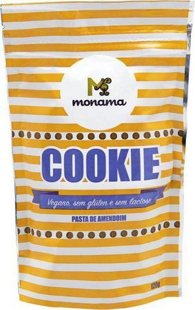 Cookie Pasta de Amendoin Monama - 120g