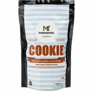 Cookie Cacau Canela e Proteina de Arroz Monama - 120g