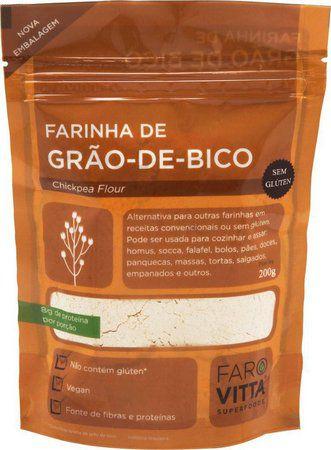 Farinha de Grão de Bico Farovitta - 200g