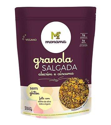 Granola Salgada Alecrim e Cúrcuma Monama - 200g