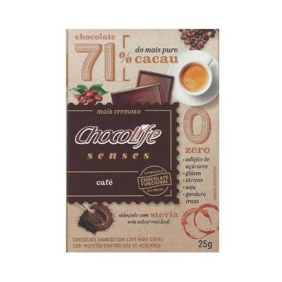 Chocolife Senses Café 71% - 25g