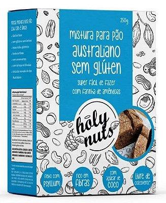 Mistura para Pão Australiano com Farinha de Amendoas Holy Nuts - 250g