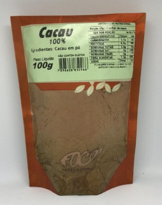 Cacau 100% Foco Alternativo - 100g