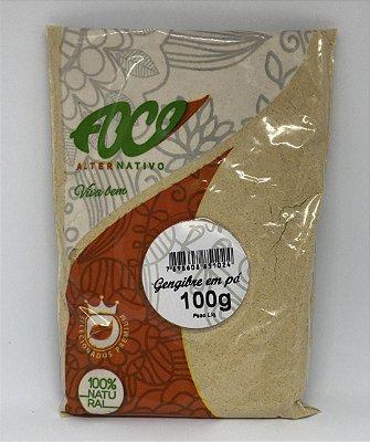 Gengibre em Po Foco Alternativo - 100g