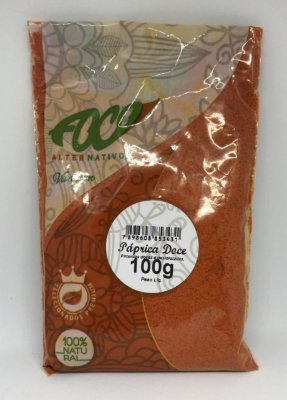 Paprica Doce Foco Alternativo - 100g