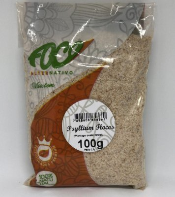 Psyllium Flocos Foco Alternativo - 100g