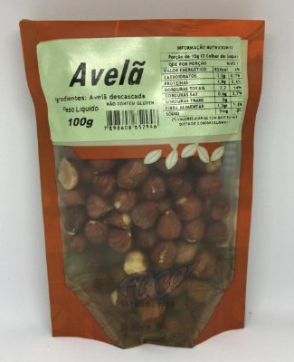 Avela Descascada Foco Alternativo - 100g