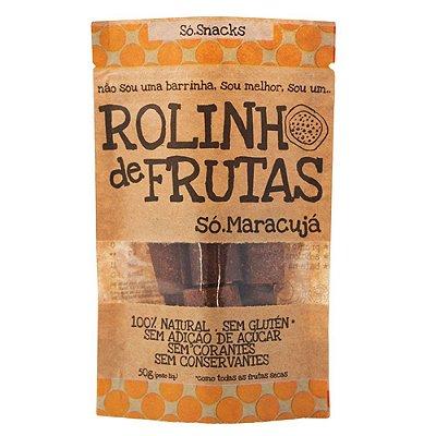 Rolinho de Frutas Maracujá + Goji Só Snacks - 50g
