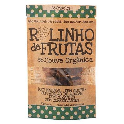 Rolinho de Frutas Couve + Linhaça Só Snacks - 50g