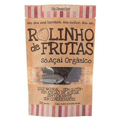 Rolinho de Açai + Morango Só Snacks - 50g