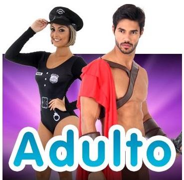As melhores fantasias adulto masculinas e femininas estão aqui, confira!