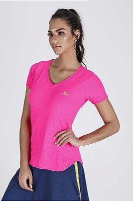 T-Shirt Fitness Feminina Alongada Mesh MicroTouch Dry Epulari