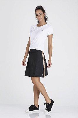 Saia shorts Fitness Evangélica Preta Epulari
