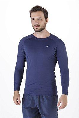 Blusa Térmica Masculina Com Proteção UV+50 Poliamida Epulari