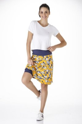Saia Shorts Fitness Evangélica Estampado UV+50 Epulari