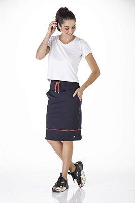 Shorts Saia Preto Alta Compressão Anti Celulite UV+50 Epulari