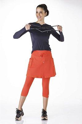 Saia Calça Fitness Evangélica Poliamida Proteção UV+50 Epulari